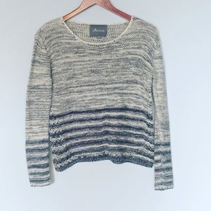 Anthropologie Paper Crane Oversized Sweater